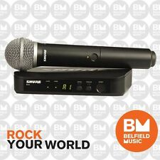 Shure BLX Wireless Microphone System PG58 Handheld Vocal Mic – BLX24PG58 - M17