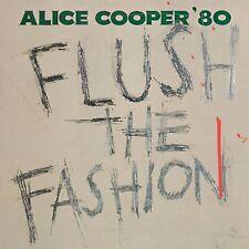 ALICE COOPER FLUSH THE FASHION LIMITED GREEN SWIRL VINYL LP (2018)