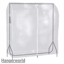 Hangerworld Housse de protection transparente L pour portant