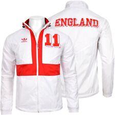Adidas Colorado Herren Windbreaker Wind Jacke England Jacket Liverpool weiss/rot