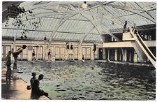 Postcard Interior Los Banos Bath House in San Diego, California~104761