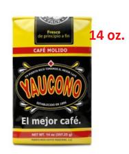 CAFE YAUCONO, CAFE MOLIDO-GROUND COFFEE 14oz.