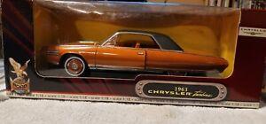 Road Signature 1963 Chrysler Turbine 1:18 Scale Diecast Model Car new