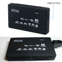 Universal Mini 26-IN-1 USB 2.0 High Speed Memory Card Reader For SD MS XD SDHC