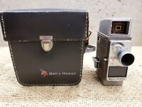 Bell and Howell Electric Eye Hand Crank 8mm Movie Camera