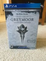 NEW Elder Scrolls Online Greymoor Physical Collector's Edition PS4 SHIPS ASAP