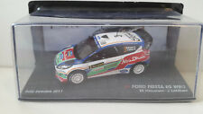 Ford Fiesta RS WRC Modellauto 1:43 Rally  Sweden 2011 model car NEU & OVP