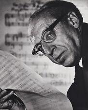 1964 Vintage 16x20 AARON COPLAND Composer Conductor Music Photo PHILIPPE HALSMAN