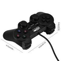 Wired USB Gamepad Game Gaming Controller Joypad Joystick Control for PC ComB fc