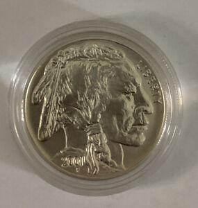 2001-D American Buffalo Uncirculated Silver Commemorative Coin