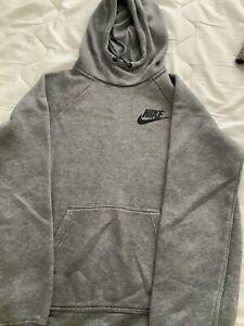 Nike Hoodie Size Small Grey