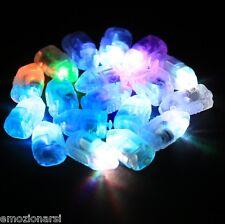 100 led luce multicolor con interruttore per palloncini matrimonio elio bombola