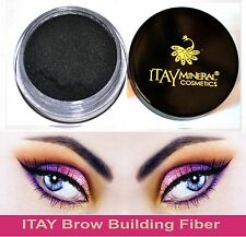 Itay Beauty Hair & Brow Building Fiber Black  5 gram