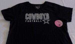 Dallas Cowboys Ladies Shirt 1XL Smart Sexy Cowboys Football Star Logo Womens NFL