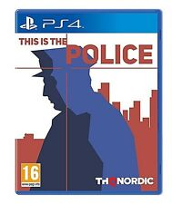 This Is the Police For PS4 (New & Sealed)