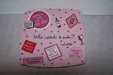 "Lolita "" Who Needs A Man "" Valentine Serving Plate"