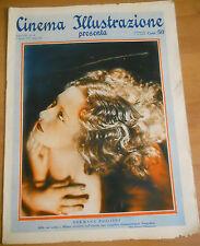 Cinema Illustrazione 1933 XI n° 14 Germana Paolieri  - Clark Gable  23/12