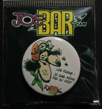 Pin Button Badge Ø38mm    JOE BAR TEAM #9