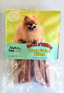 Alpha Dog Series - Duck & Cod Slices (4oz)