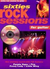 Partition+CD pour guitare - Sixties Rock Sessions for Guitar