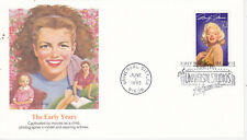 POSTAL HISTORY FIRST DAY EVENT COVER MARILYN MONROE MOVIE STAR FLEETWOOD MM6