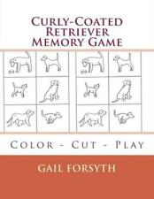 Curly-Coated Retriever Memory Game: Color - Cut - Play