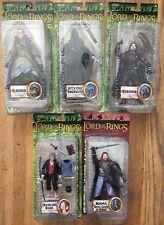 Toy Biz Marvel Lord of Rings (5) Figure LOT Hama Bilbo Elrond Ringwraith Boromir