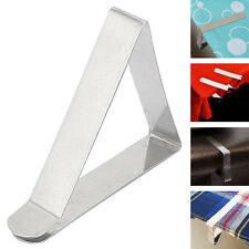 12Tablecloth Clips Desk Table Cloth Cover Clamps Holder for Party,Picnic,Wedding