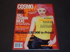 2000 AUGUST COSMO GIRL MAGAZINE - GWEN STEFANI - NICE FRONT COVER - D 2786