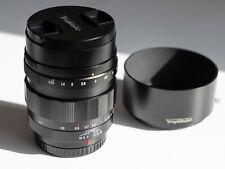 Voigtlander Nokton 42.5mm f0.95 Lens MFT BMPCC 4K GH5/S E-M1X Olympus Panasonic