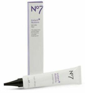 No7 Instant Illusions Wrinkle Filler, Hypo-allergenic, 1oz. (30ml) - NIB!
