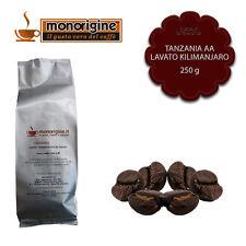 Caffè in Grani Tanzania AA Lavato Kilimanjaro 250 gr - Monorigine Arabica 100%