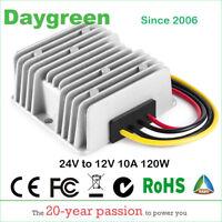 24V DC to 12V DC 120W Converter Step Down Transformer 10 AMP Voltage Regulator
