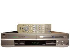 JVC HR-XVS20E DVD Super VHS VCR Video Rekorder RW Player FB SCART Getestet TOP