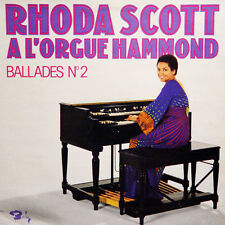 RHODA SCOTT A L'Orgue Hammond Ballades N° 2 FR Press Barclay 80.575 1975 LP