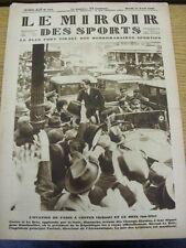 17/04/1928 le MIROIR DES SPORTS MAGAZINE: numero: 422, il contenuto da includere, Franco