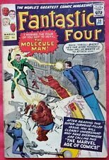 Fantastic Four 20 Marvel Silver Age 1963 1st appearance of the Molecule Man.