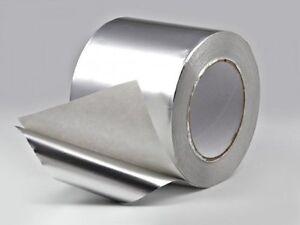 Ultratape Aluminium Foil Tape - 50mm, 75mm & 100mm x 45.7m 6,12,24 Rolls