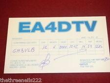 QSL RADIO CARD - EA4DTV - SPAIN - 2000