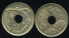 ESPAGNE 25 pesetas 1990  ( bis )