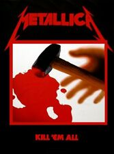 METALLICA - KILL EM ALL - FABRIC POSTER - 30x40 WALL HANGING - MUSIC BAND 51190