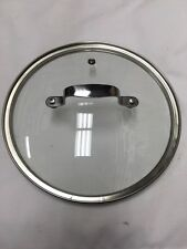 T-Fal 33 22 CM Emerilware Stainless Steel Pot Pan Glass Lid Genuine