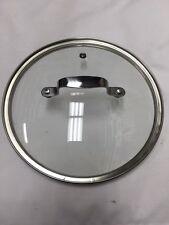 T-Fal 33 22 CM Emerilware Stainless Steel Pot Pan Glass Lid Genuine