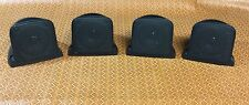 Quest Ceiling Satellite Surround Sound Speakers Set of 4 QX66B NEW
