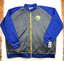 best sneakers f75ff a9c74 Golden State Warriors Men s Big   Tall Full Zip Embroidered Track Jacket  5XL NBA