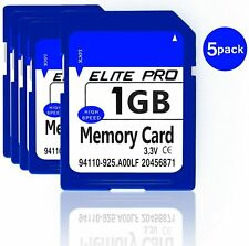 Estone 5pcs 1GB SD Cards Security Digital Memory Card with High Speed with Card