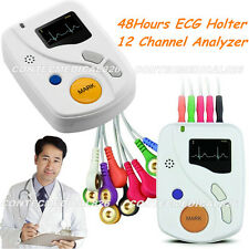 Sistemi dinamici ECG Holter TLC6000 48 Ore 12 conduce analisi sincro libero SW