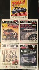 Car And Driver lot of 5 1994-2000