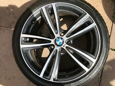 "OEM BMW 3 SERIES / 4 SERIES 19"" STYLE 442M REAR ALLOY WHEEL 7852494 ORBIT GREY"