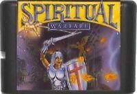 Spiritual Warfare (1994) 16 Bit Game Card For Sega Genesis / Mega Drive System